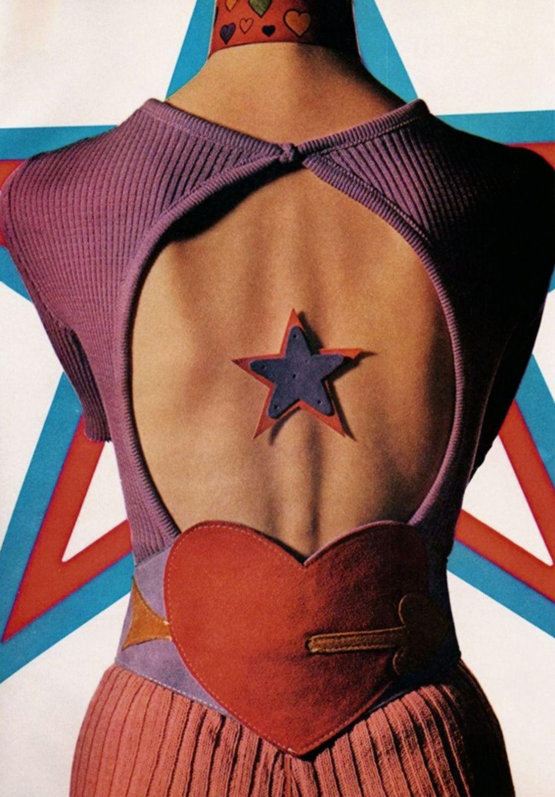 """ Harper's Bazaar-"", 1971 de Willy RIZZO - Courtesy de l'artiste"