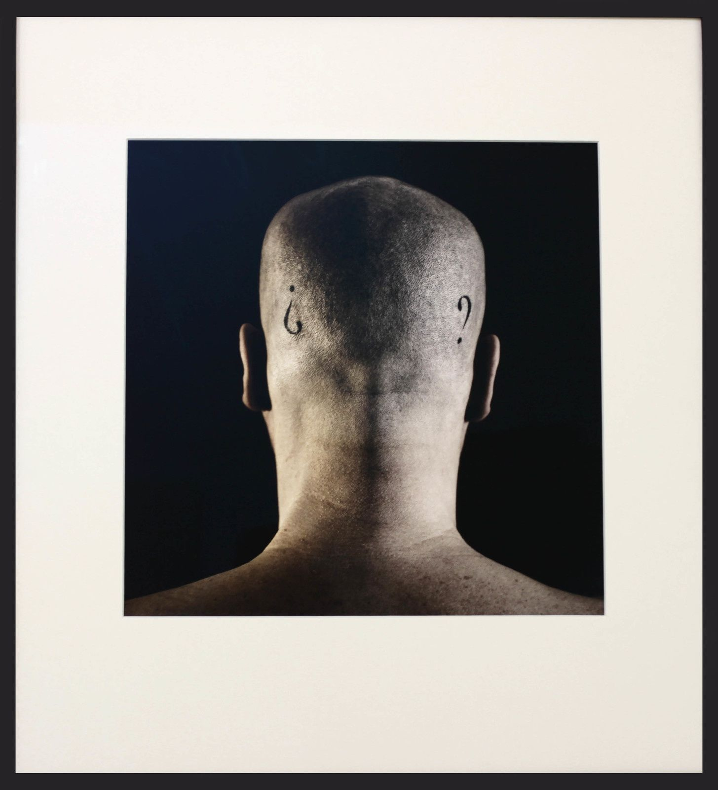 """La gran incognita (Autoportrait)"", 2015 de Javier PEREZ - Courtesy Galerie Papillon © Photo Éric Simon"