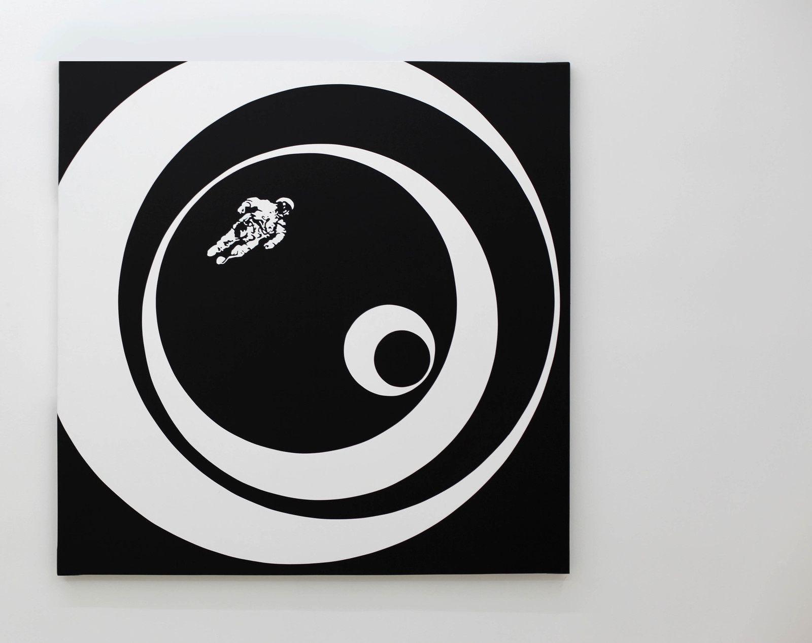"""""""Dans le parc naturel galactique"""", 2019 de Ivan MESSAC - Courtesy Galerie Rabouan Moussion © Photo Éric Simon"""
