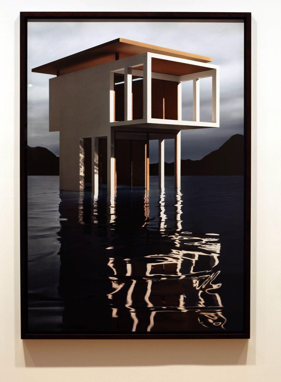"""""""White Solo Pavilion"""", 2019 de James CASEBERE - Courtesy de l'artiste et de la galerie Templon Paris © Photo Éric Simon"""