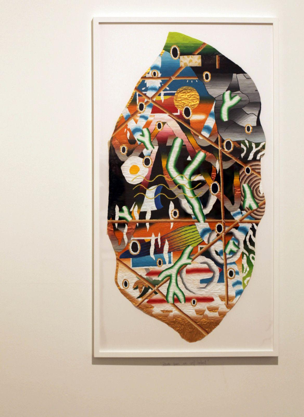 """""""Etude pour un cerf volant"""", 2019 de Samuel TRENQUIER - Courtesy de la Galerie Georges-Philippe  & Nathalie Vallois © Photo Éric Simon"""