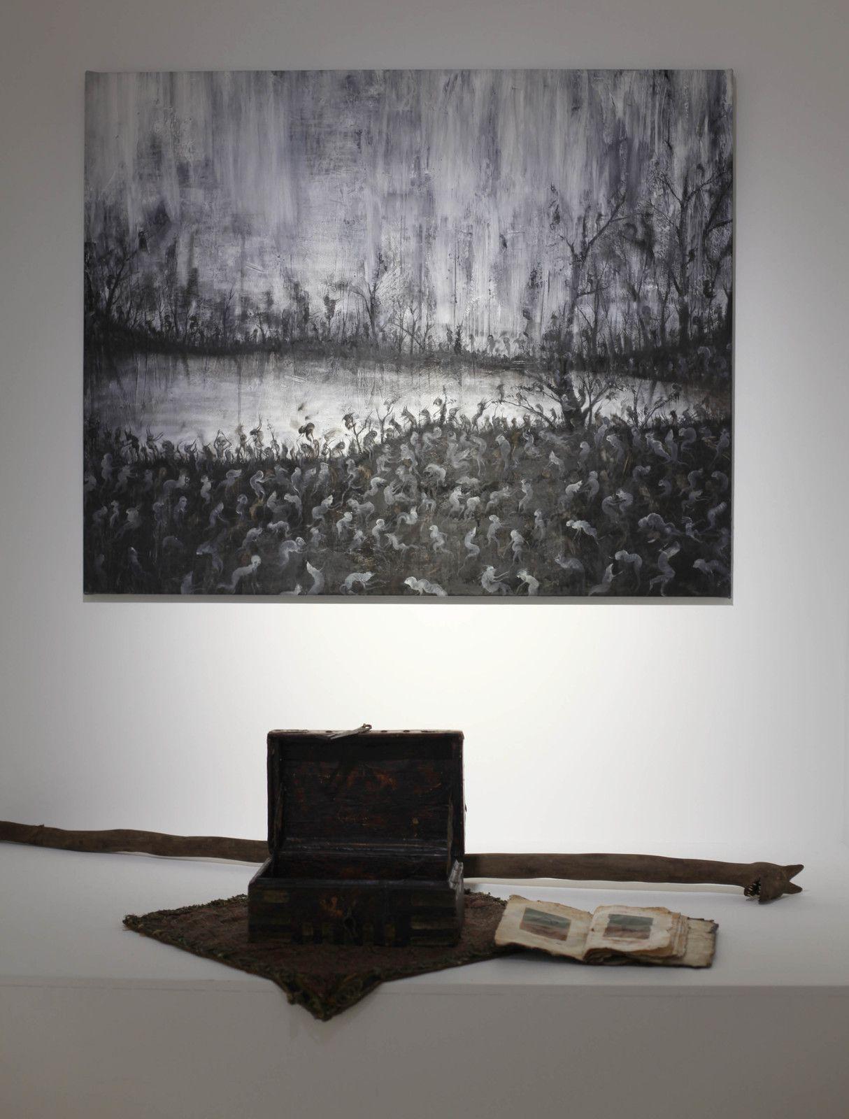 """""""Abra-chah #2"""", 2019 de PEYBAK - Courtesy de la Galerie Georges-Philippe  & Nathalie Vallois © Photo Éric Simon"""