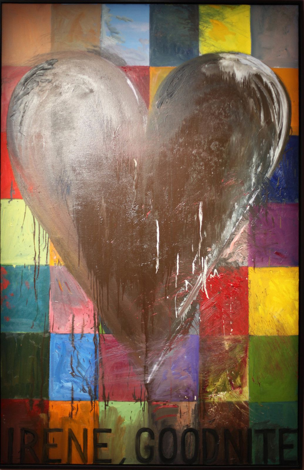 """Irene..."", 1993 de Jim DINE - Courtesy de la galerie Templon © Photo Éric Simon"