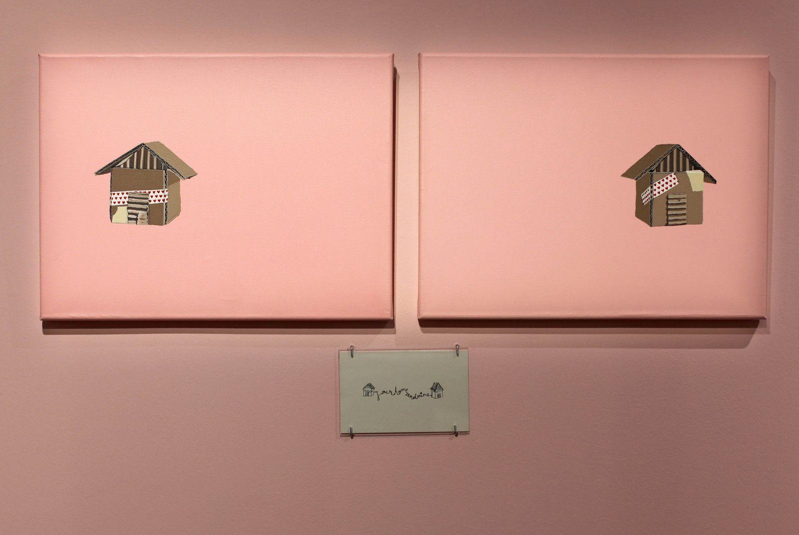 """Tu casa y la mia"", 2013 de Ronda BAUTISTA - Courtesy de l'artiste © Photo Éric Simon"