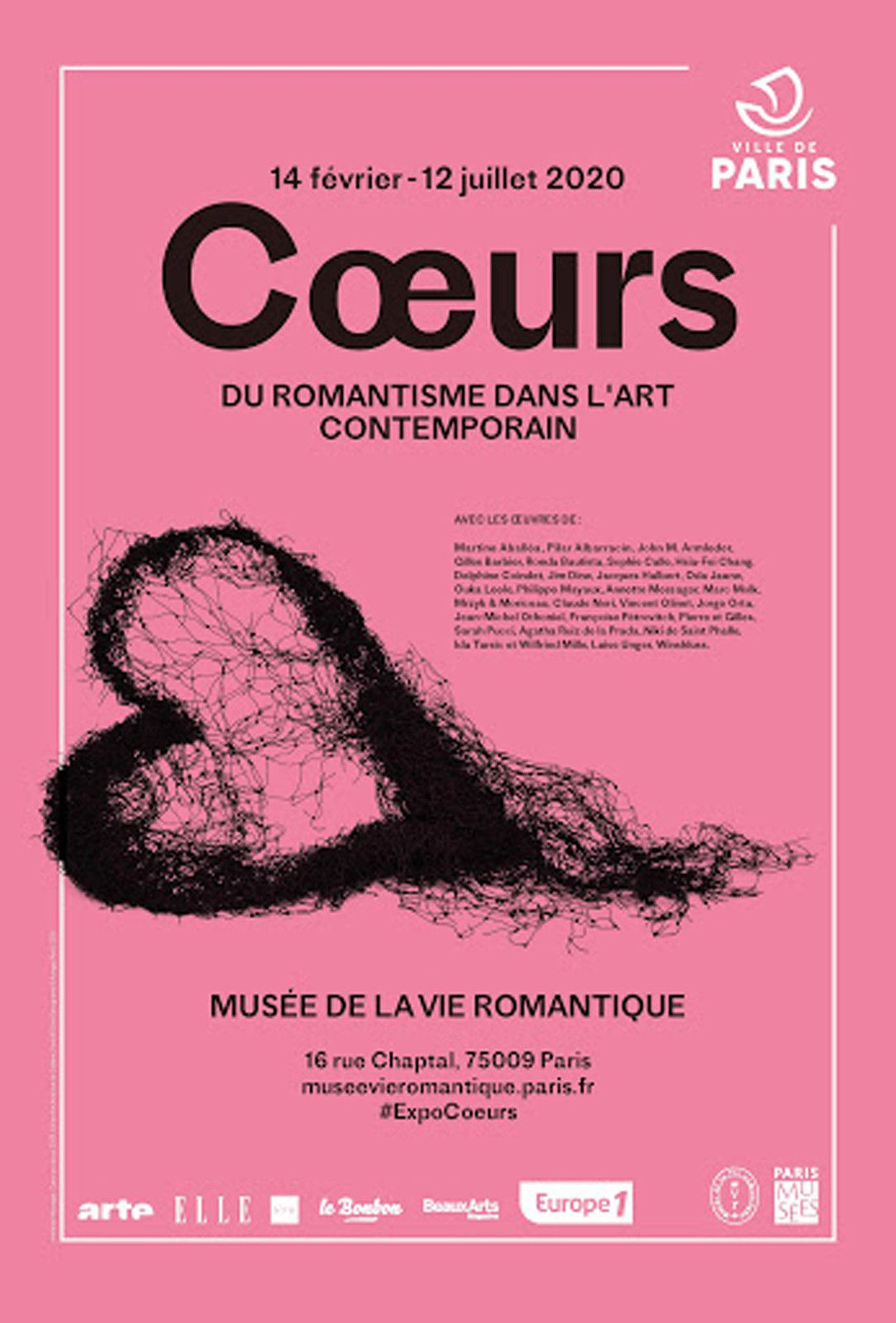 "Exposition Collective Contemporaine: ""CŒURS"""