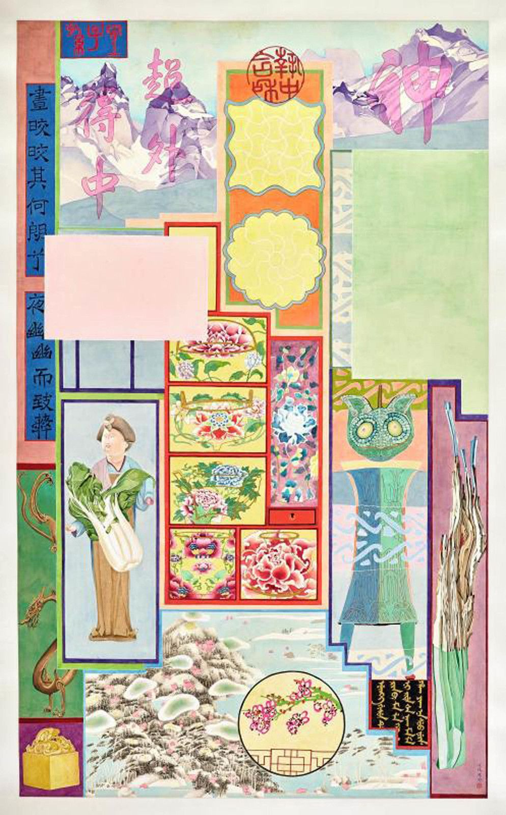 """Pavillion of treasures"", 2018 de Yuan JAI - Courtesy Collection privée et de l'artiste"