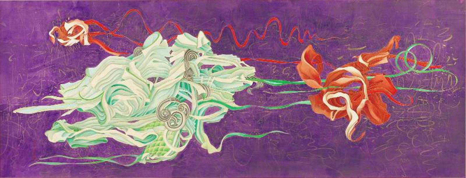 """""""Flirting"""", 2001 de Yuan JAI - Courtesy Collection privée et de l'artiste"""
