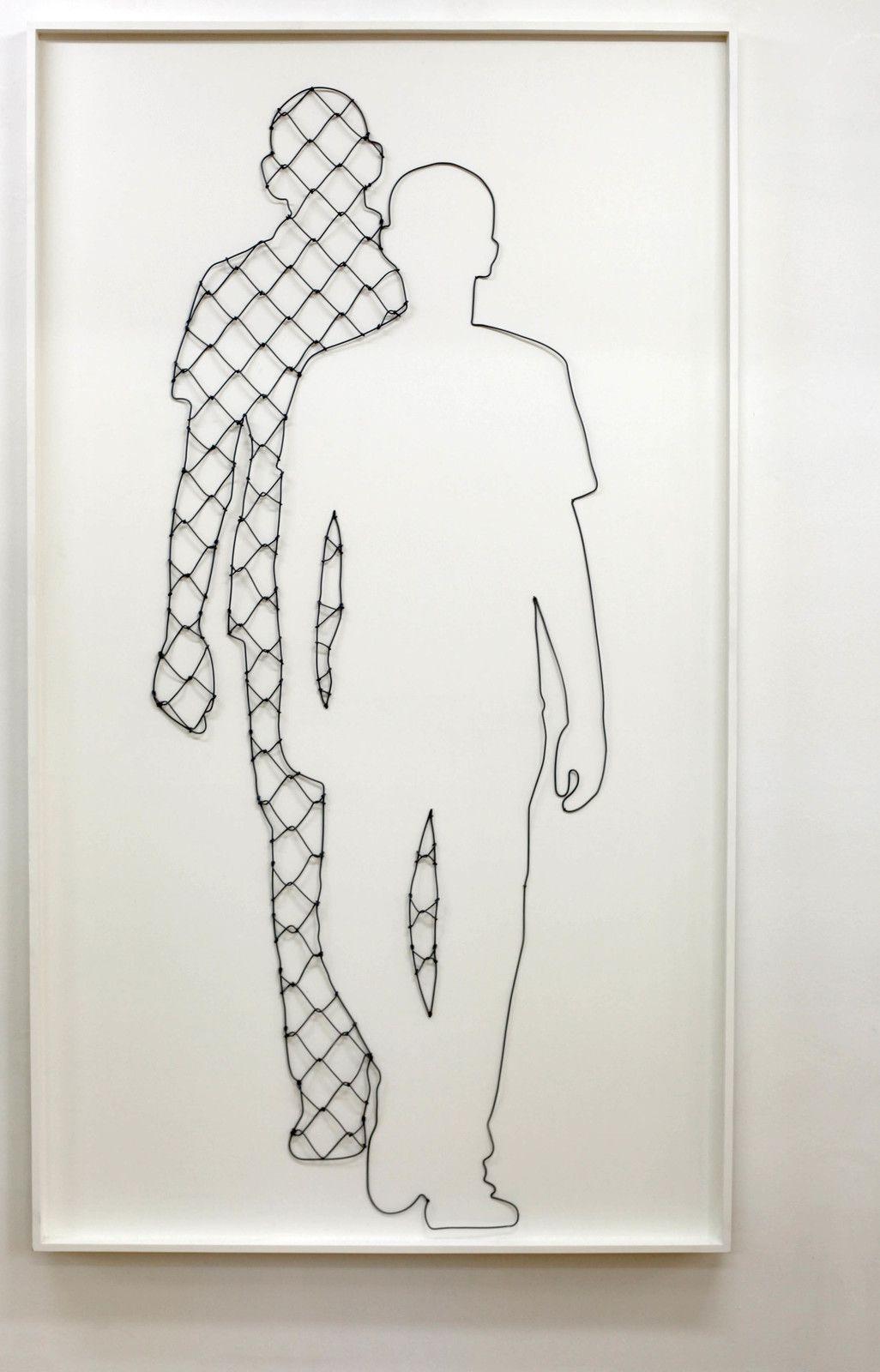 """""""Shadow"""", 2019 de ICY AND SOT - Courtesy de la Galerie Danysz - Paris © Photo Éric Simon"""