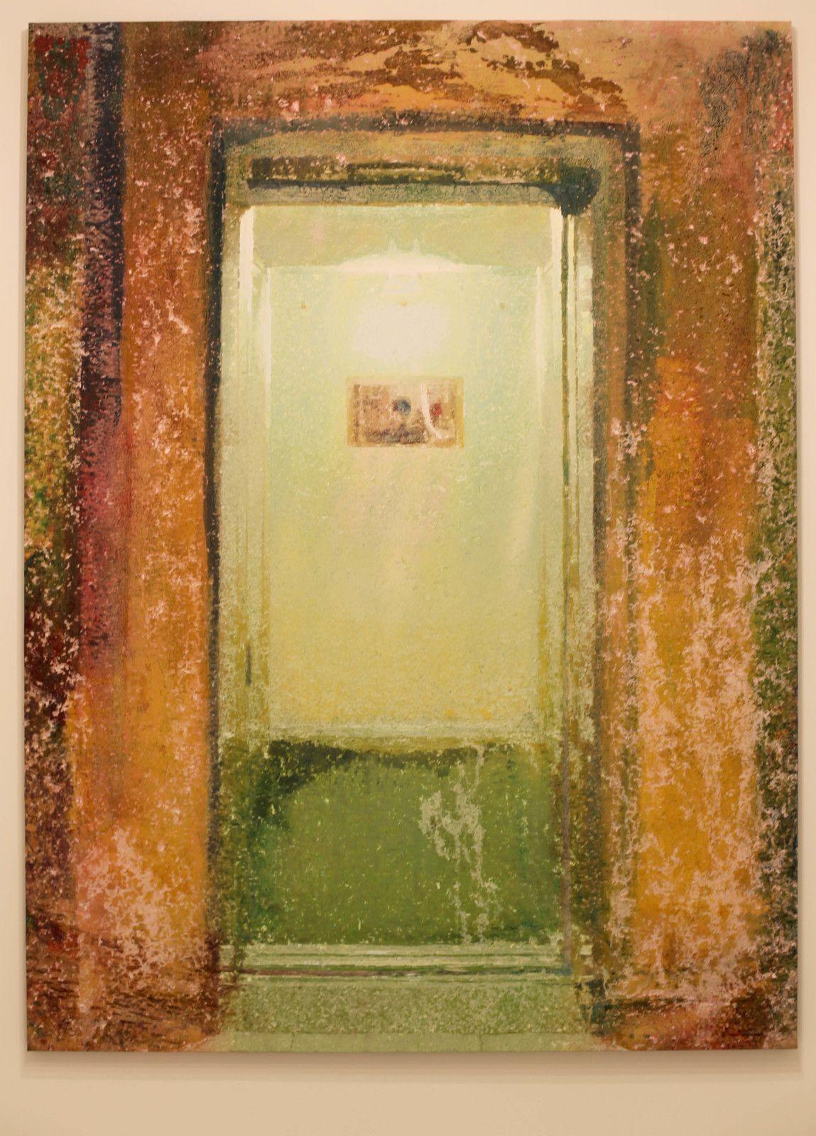 """""""Porte"""", 2018 de Alexandre LENOIR - Courtesy de l'artiste et de la Galerie Almine RECH © Photo Éric Simon"""