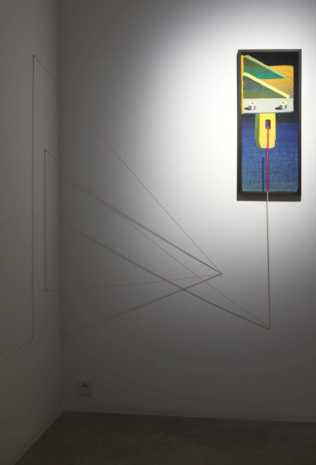 """Stranger"", 2020 de Zhenya MACHNEVA  - Courtesy Galerie Georges-Philippe & Nathalie Vallois © Photo Éric Simon"