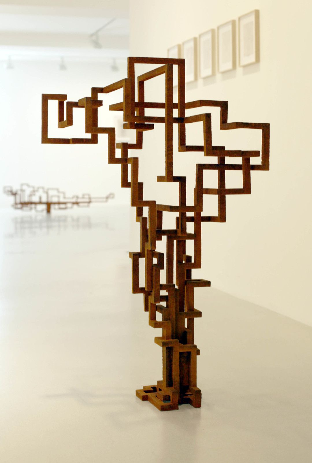 """OPEN"", 2019 de Antony GORMLEY - Courtesy Galerie Thaddaeus ROPAC © Photo Éric Simon"