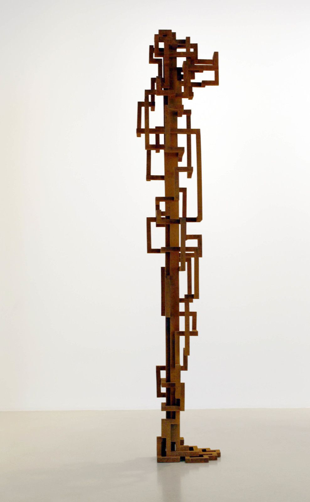 """HEAD"", 2019 de Antony GORMLEY - Courtesy Galerie Thaddaeus ROPAC © Photo Éric Simon"