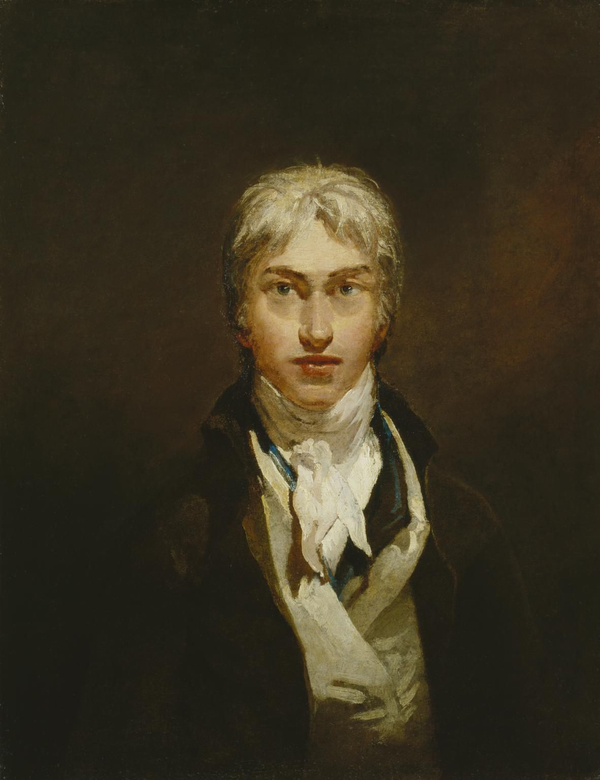 """Self-Portrait"", 1799 de Joseph Mallord William Turner"