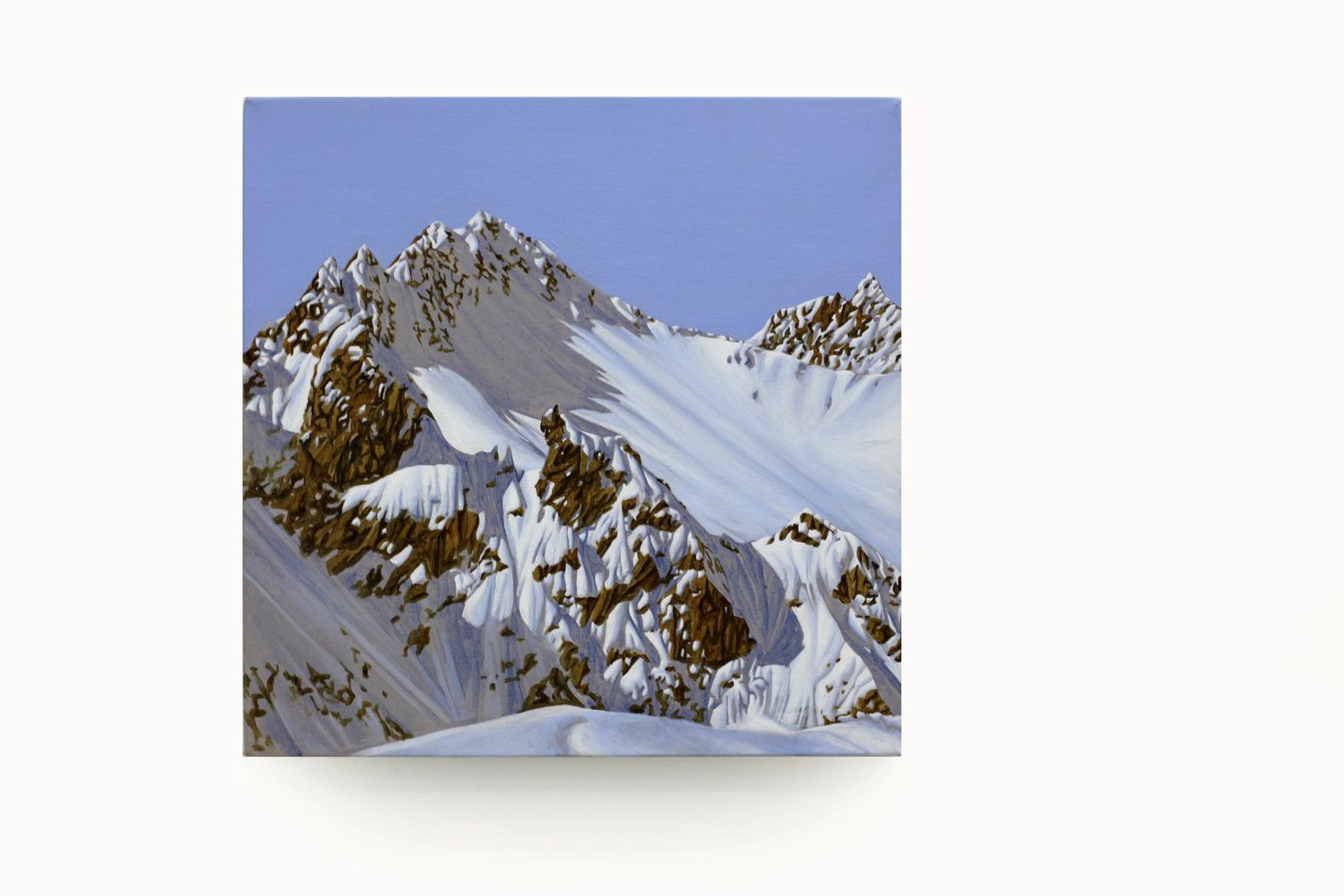 """Mont-Blanc"", 2018 de Hervé HEUZÉ - Courtesy Galerie RICHARD - PARIS © Photo Éric Simon"