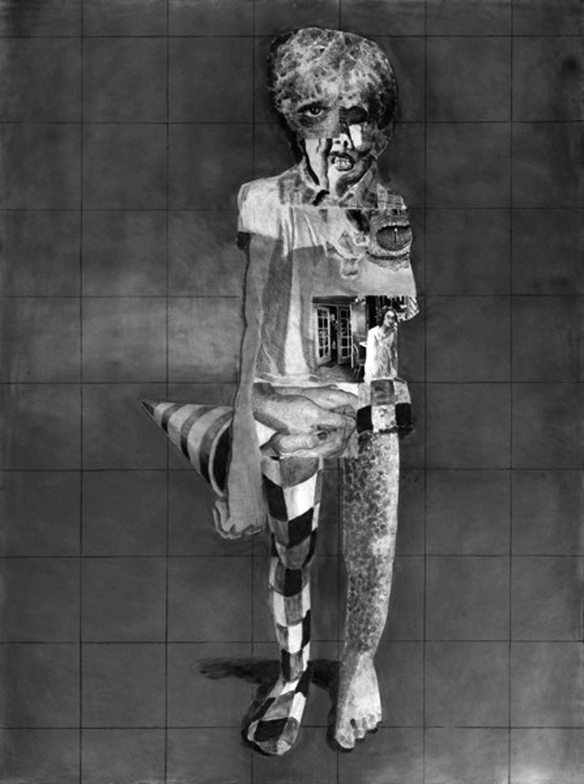 """""""Pierre-François #9"""", 2020 de Jérôme ZONDER - Courtesy Galerie Nathalie Obadia"""
