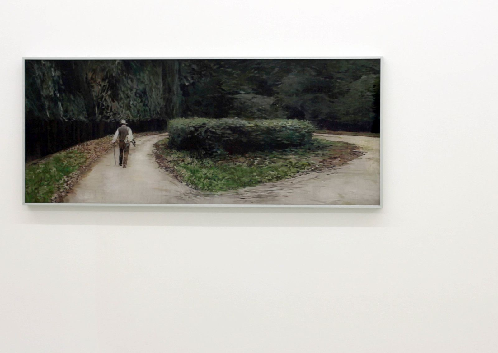 """The Trail (After Sebald), 2019 de Gil Heitor CORTESÃO - Courtesy Galerie Suzanne TARASIEVE © Photo Éric Simon"