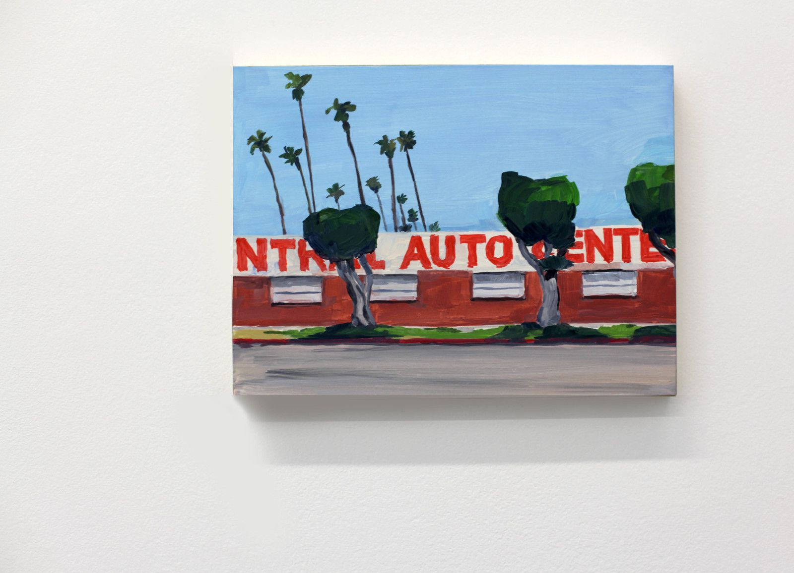"""Auto Center"", 2019 de Jean Philippe DELHOMME - Courtesy Galerie Perrotin © Photo Éric Simon"