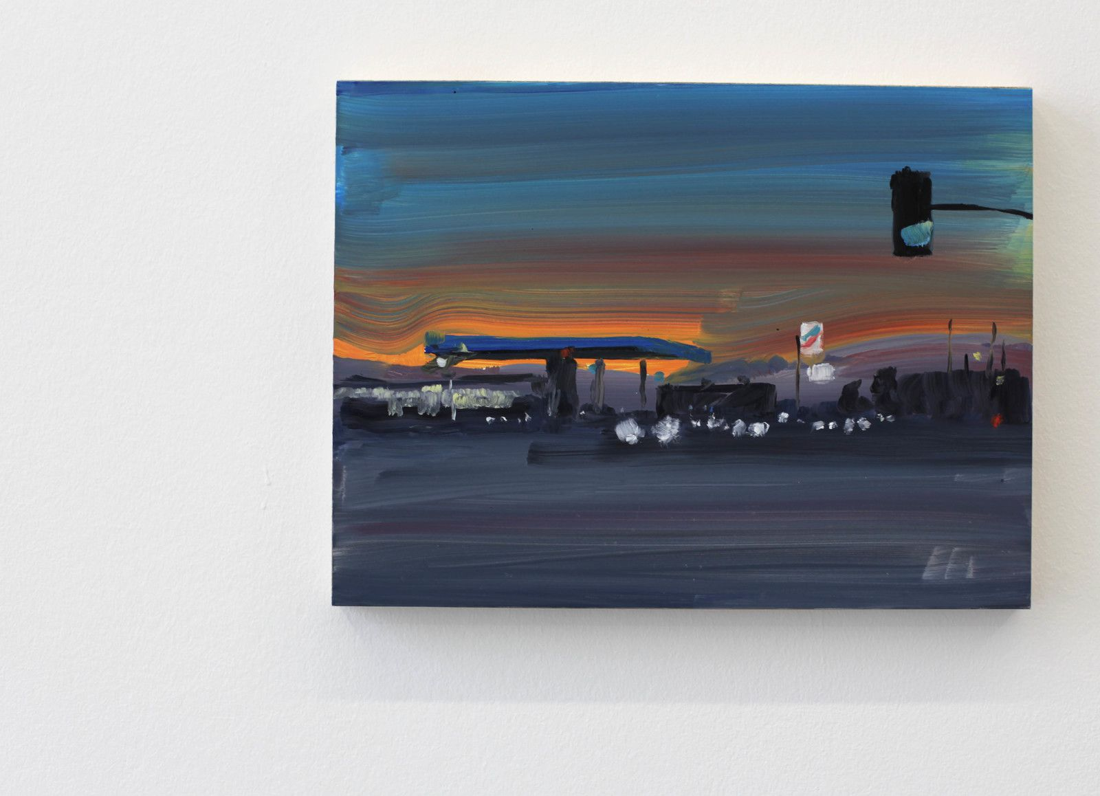 """Gas Station"", 2019 de Jean Philippe DELHOMME - Courtesy Galerie Perrotin © Photo Éric Simon"
