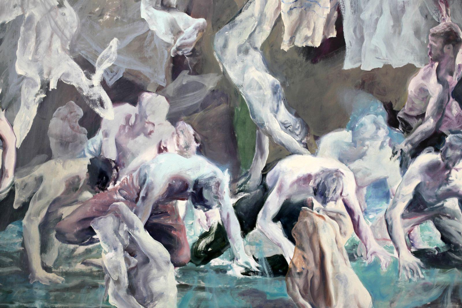 """Need of hesitation (from Performing Doubt)"", 2020 de Alin BOZBICIU - Courtesy Galerie Suzanne Tarasieve © Photo Éric Simon"