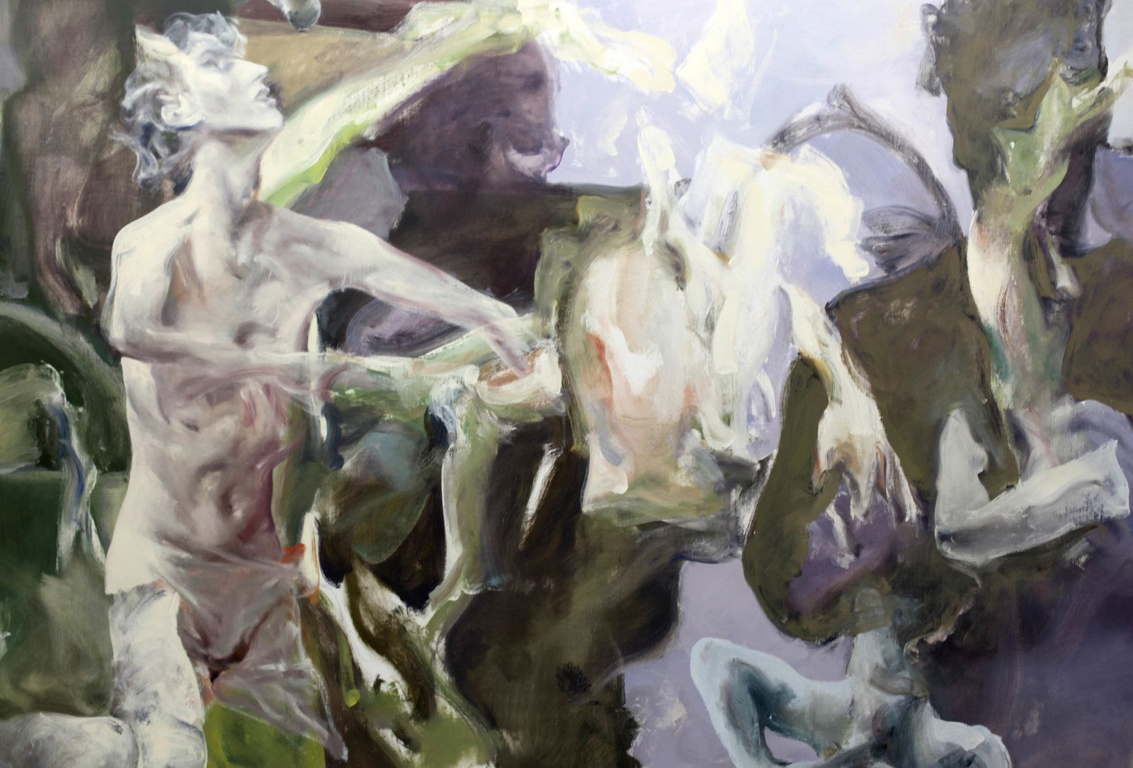 """Catharsis"", 2020 de Alin BOZBICIU - Courtesy Galerie Suzanne Tarasieve © Photo Éric Simon"