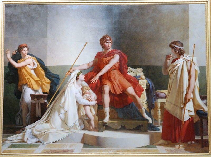 Andromaque et Pyrrhus, Guérin, Musée du Louvre