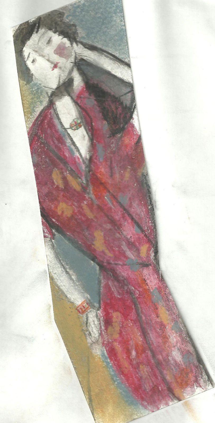 litteratus, portait de la femme au peignoir, Teresa BALAZS