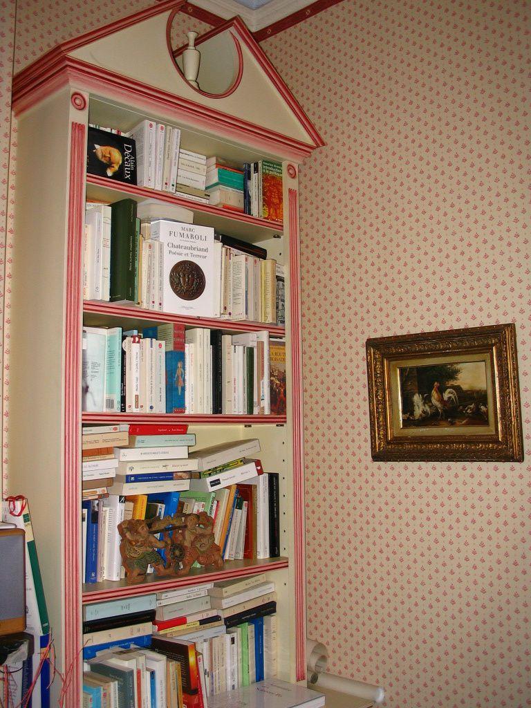 rangement bibliothèque trucs et astuces