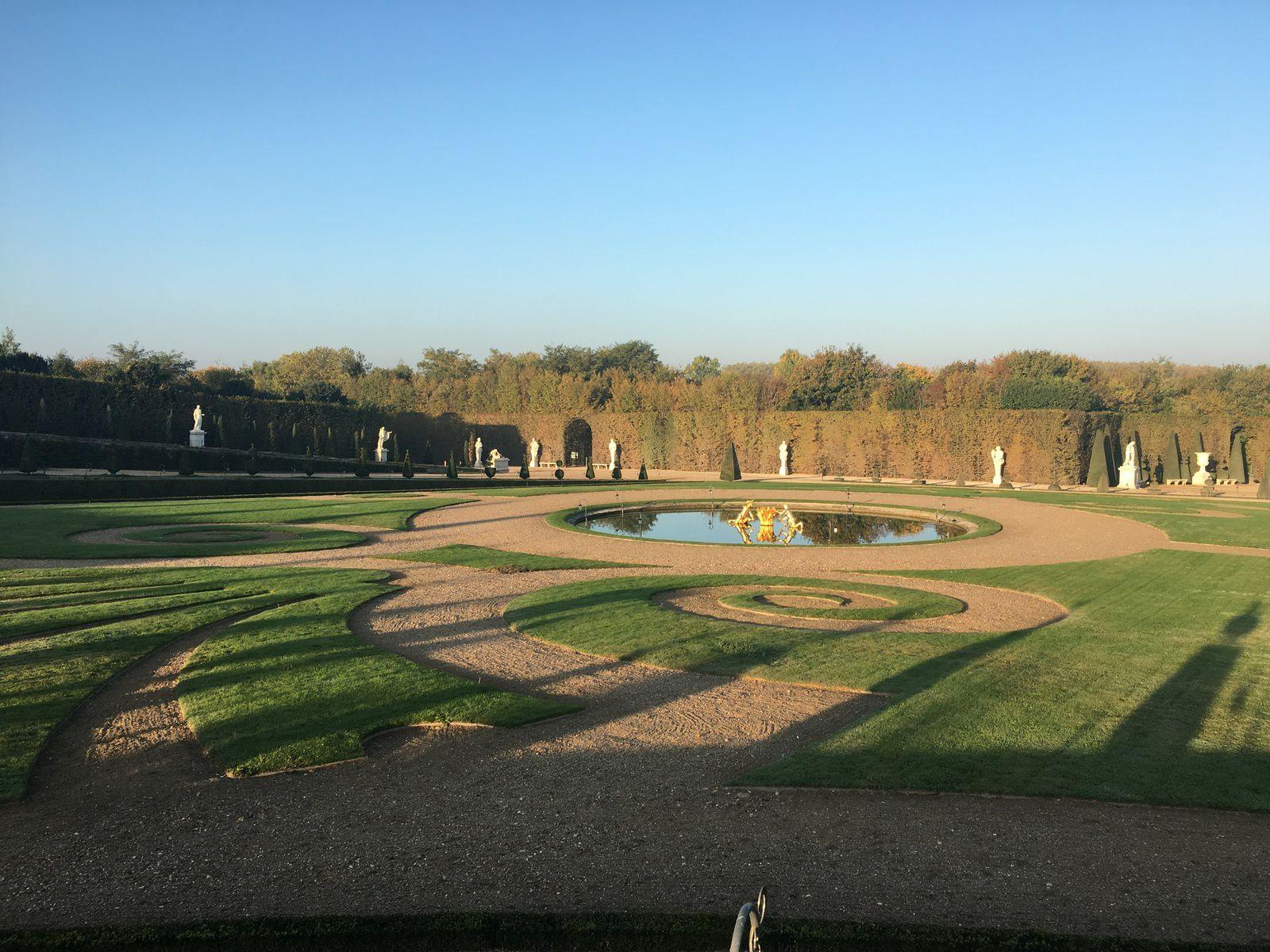 Chateau Versailles lettre à mon jardinier Boileau