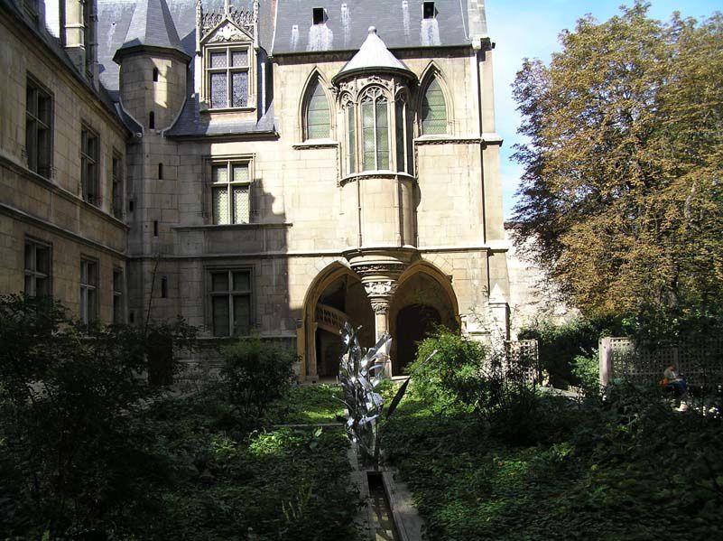 Le jardin du Moyen âge Cluny la Sorbonne potager