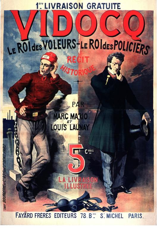 fait, divers, thème, Vidocq, Vautrin, Jean Valjean