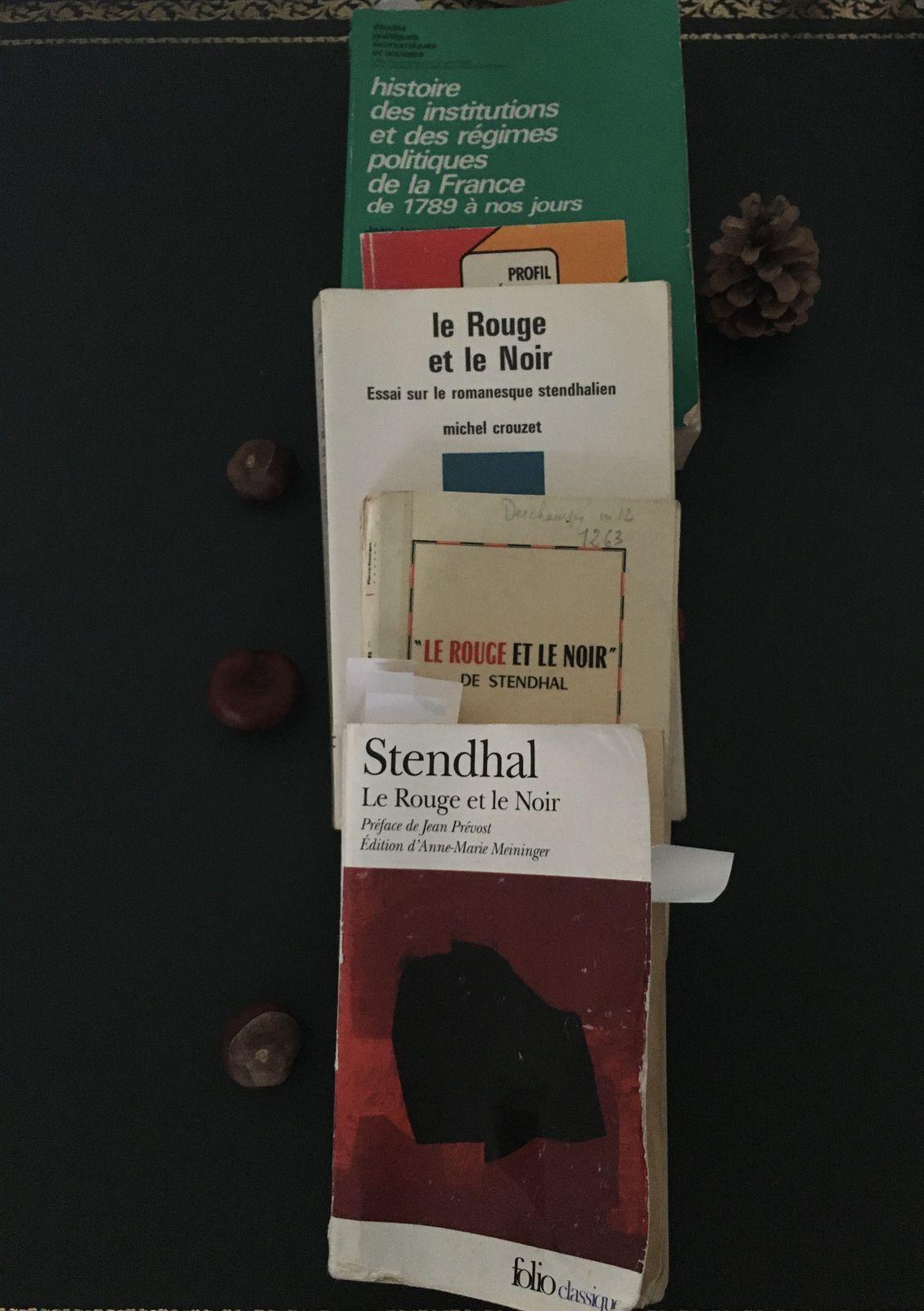 le rouge et le noir, stendhal, analyse, plan, etude, explication