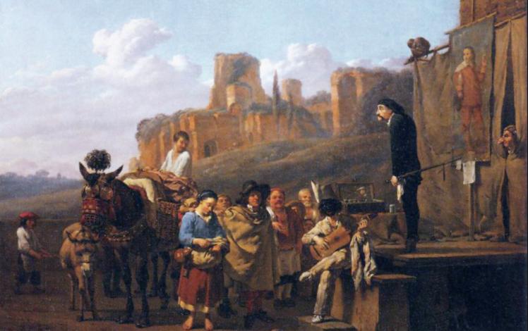 commedia dell'arte, registre, italien, Molière, le malade imaginaire