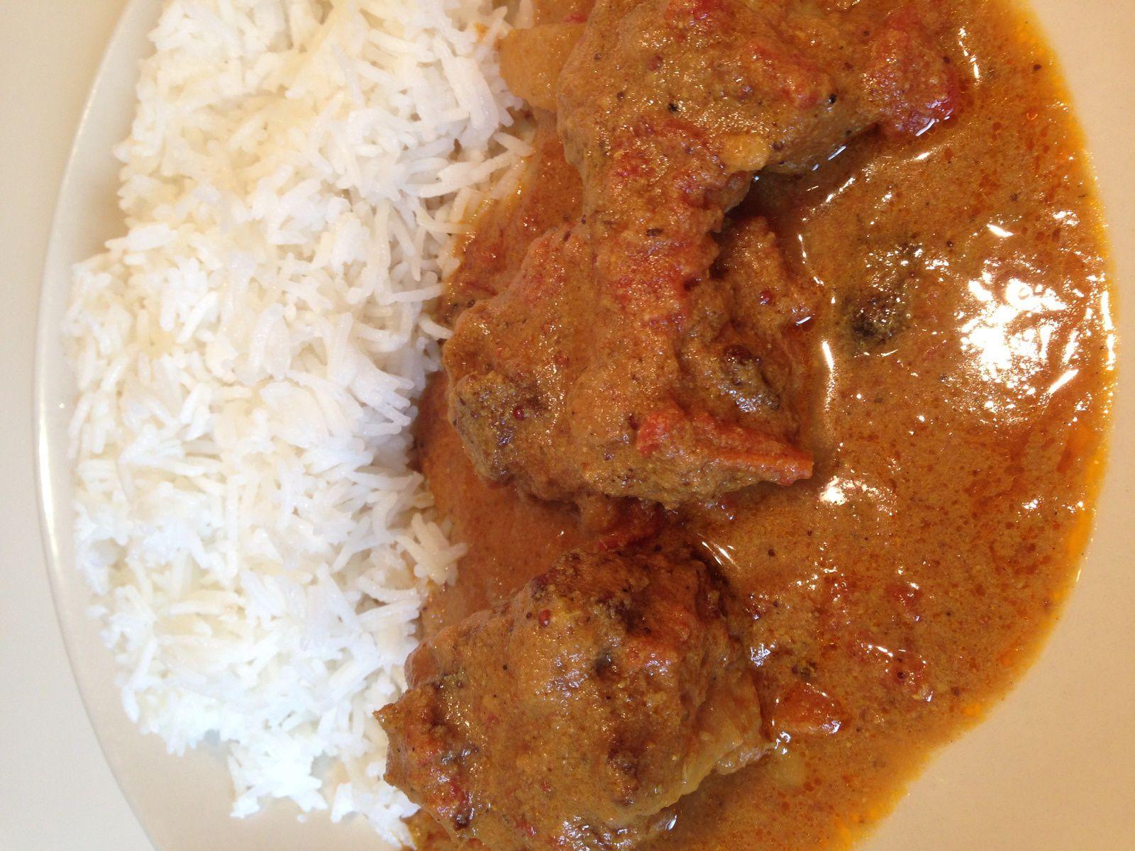 Vindaloo : sauté de porc à l'indienne