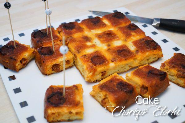 Cake au chorizo etorki