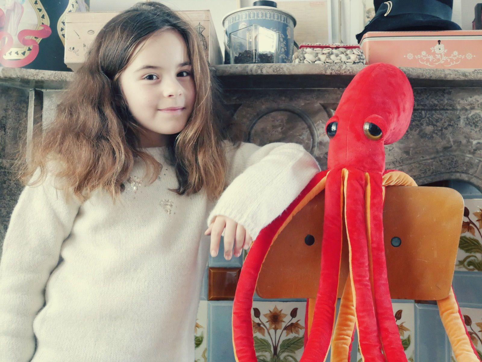 """""""Oh, elle est si belle cette pieuvre, maman!"""" N'essaie même pas!"""