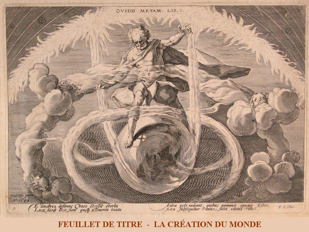 Les Métamorphoses d'Ovide Gravure de Hendrick Goltzius