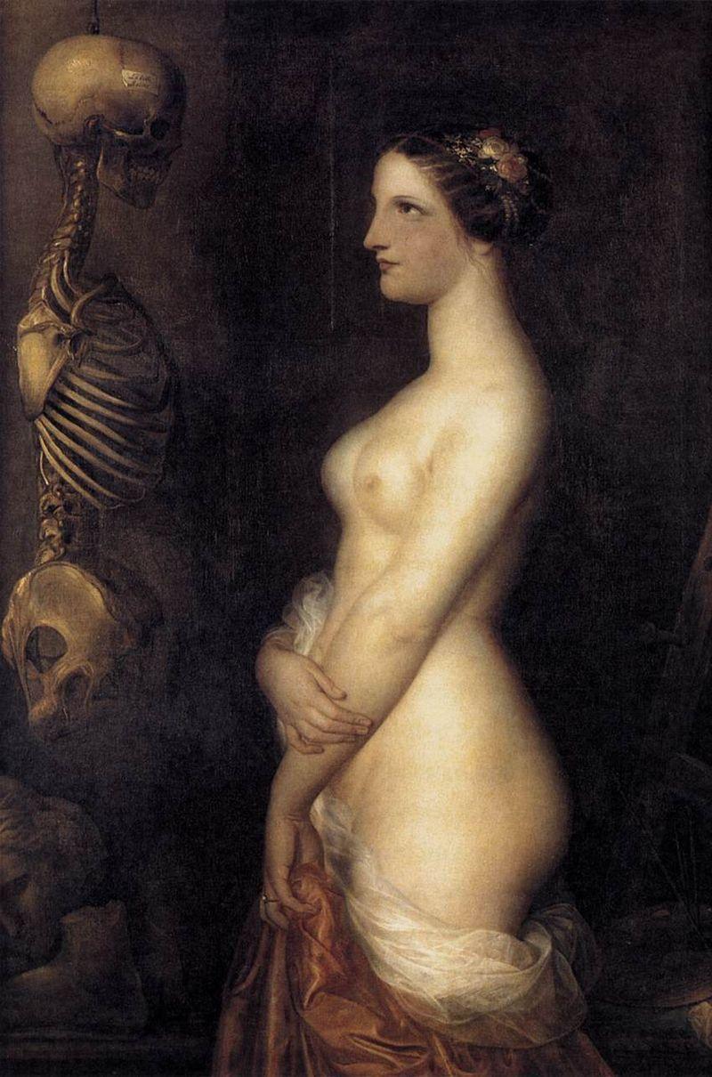 Deux jeunes filles, ou la belle Rosine (1847) Antoine Wirtz.