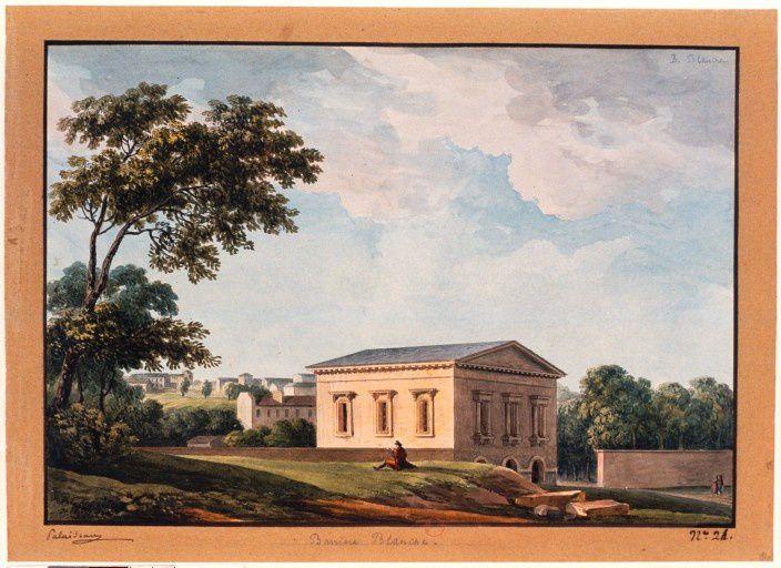 Le pavillon de la barrière de la Croix blanche (Ledoux, 1785)