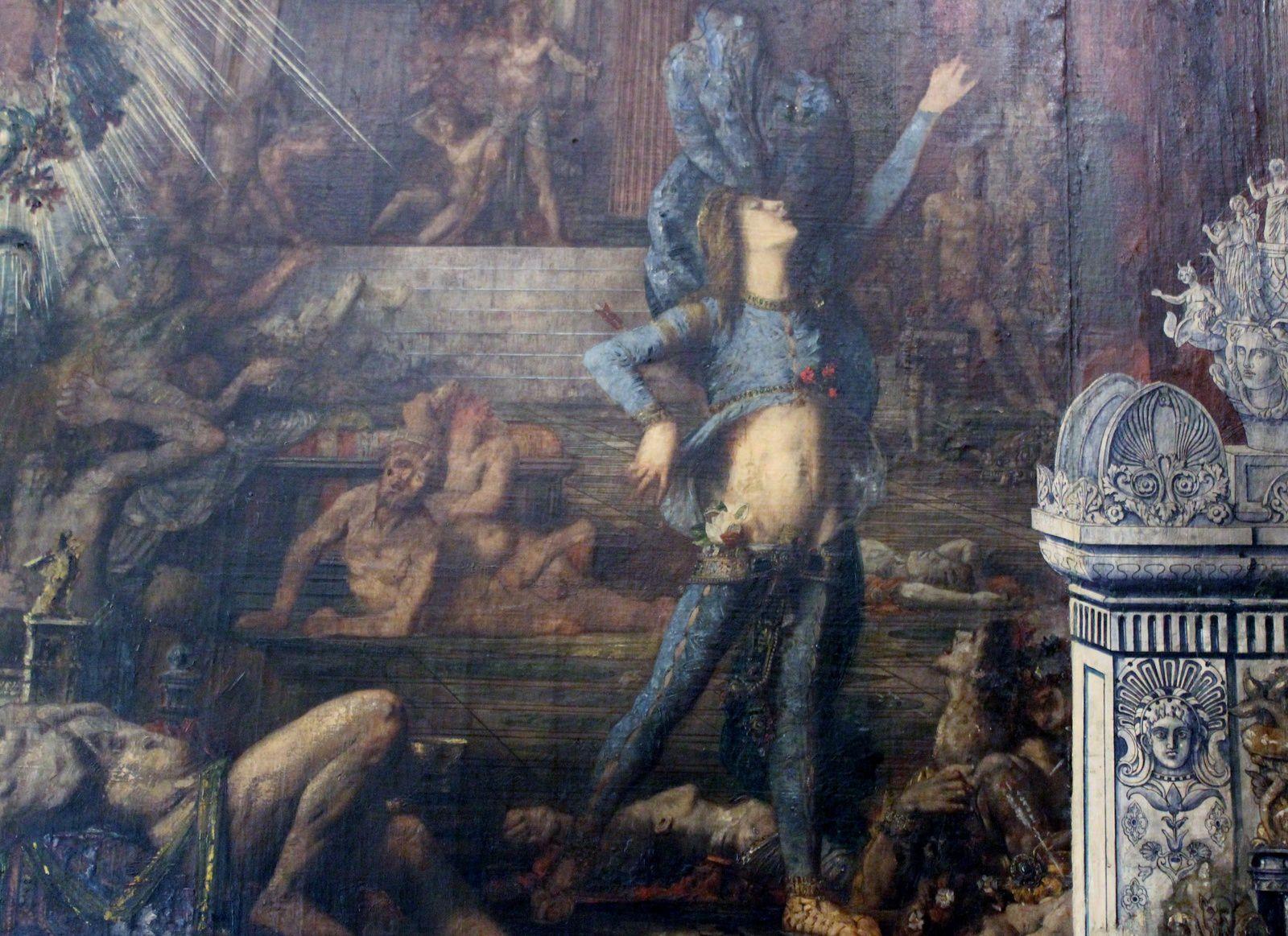 Gustave Moreau. Les Prétendants. Musée Moreau.