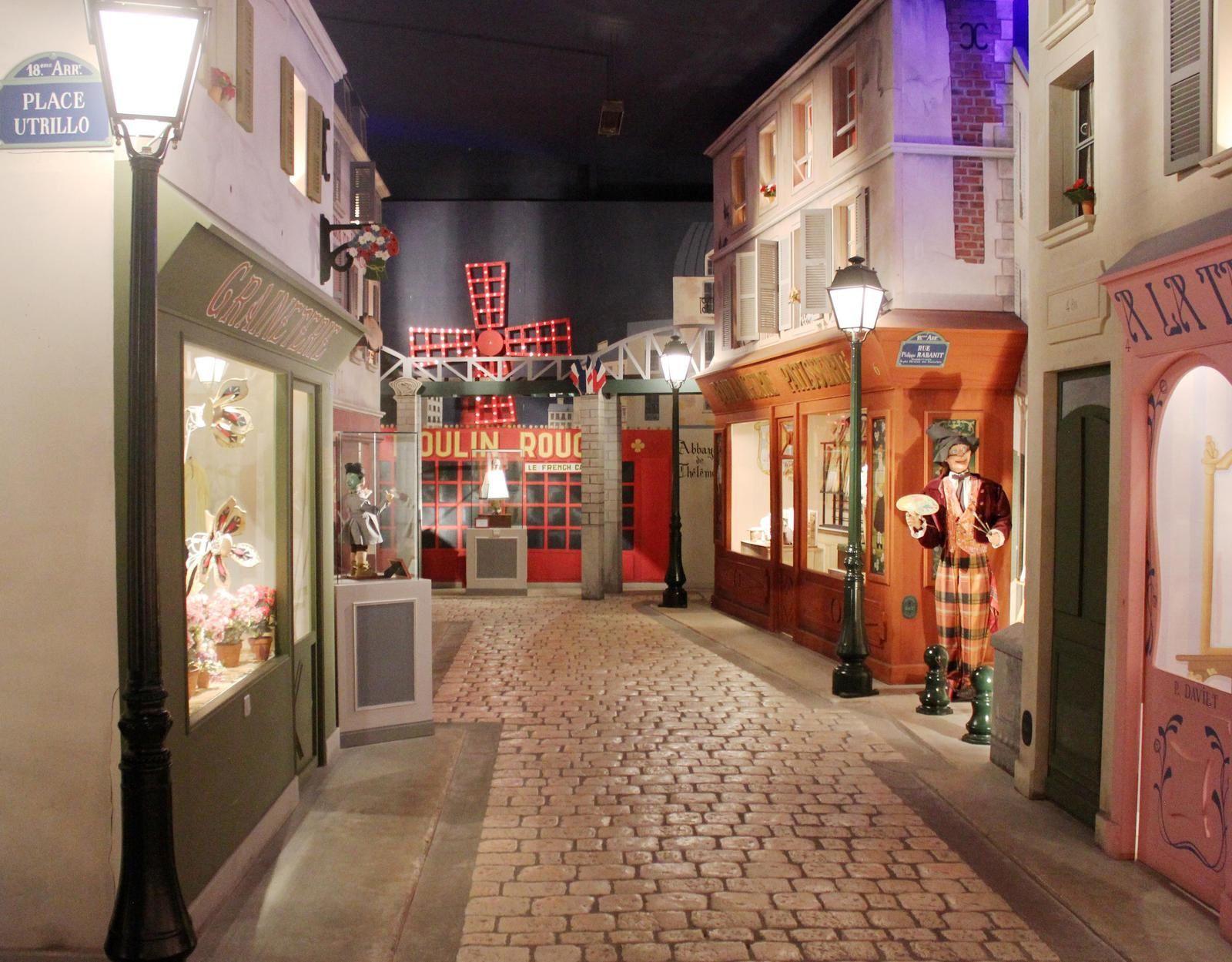 Place Utrillo et boulevard de Rochechouart