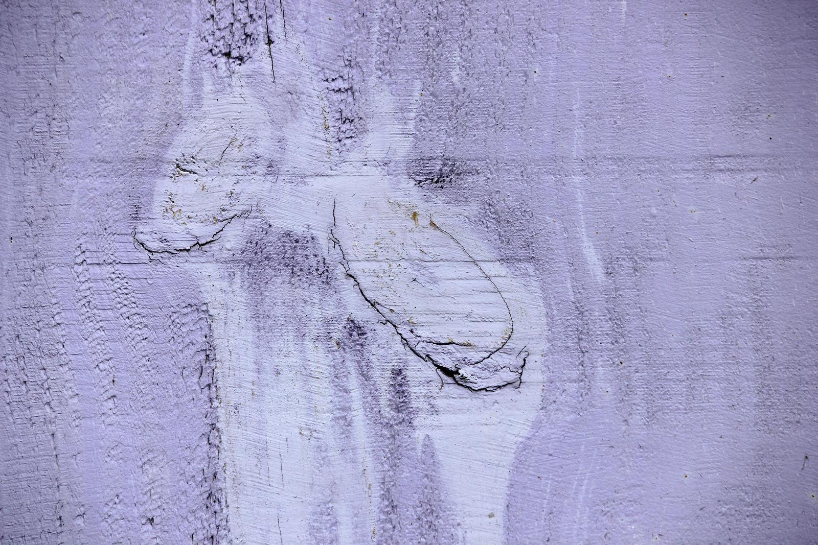 Saint-Trojan. Les cabanes. Art du hasard. Peintures couleur du temps