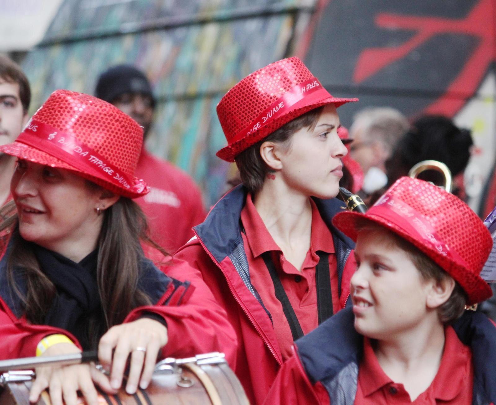 Défilé des Vendanges. Montmartre 11 octobre 2014