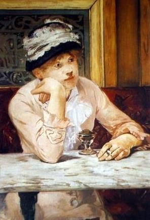 Manet. La Prune. (Ellen Andrée) 1878