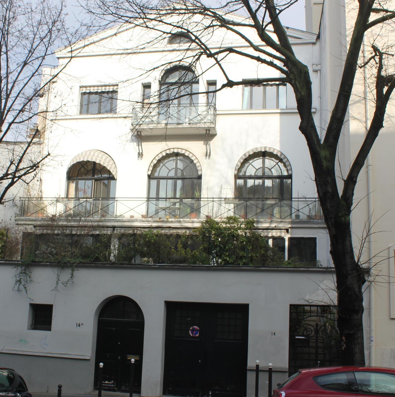 Avenue Junot. Montmartre. (1) du 1 au 14bis.