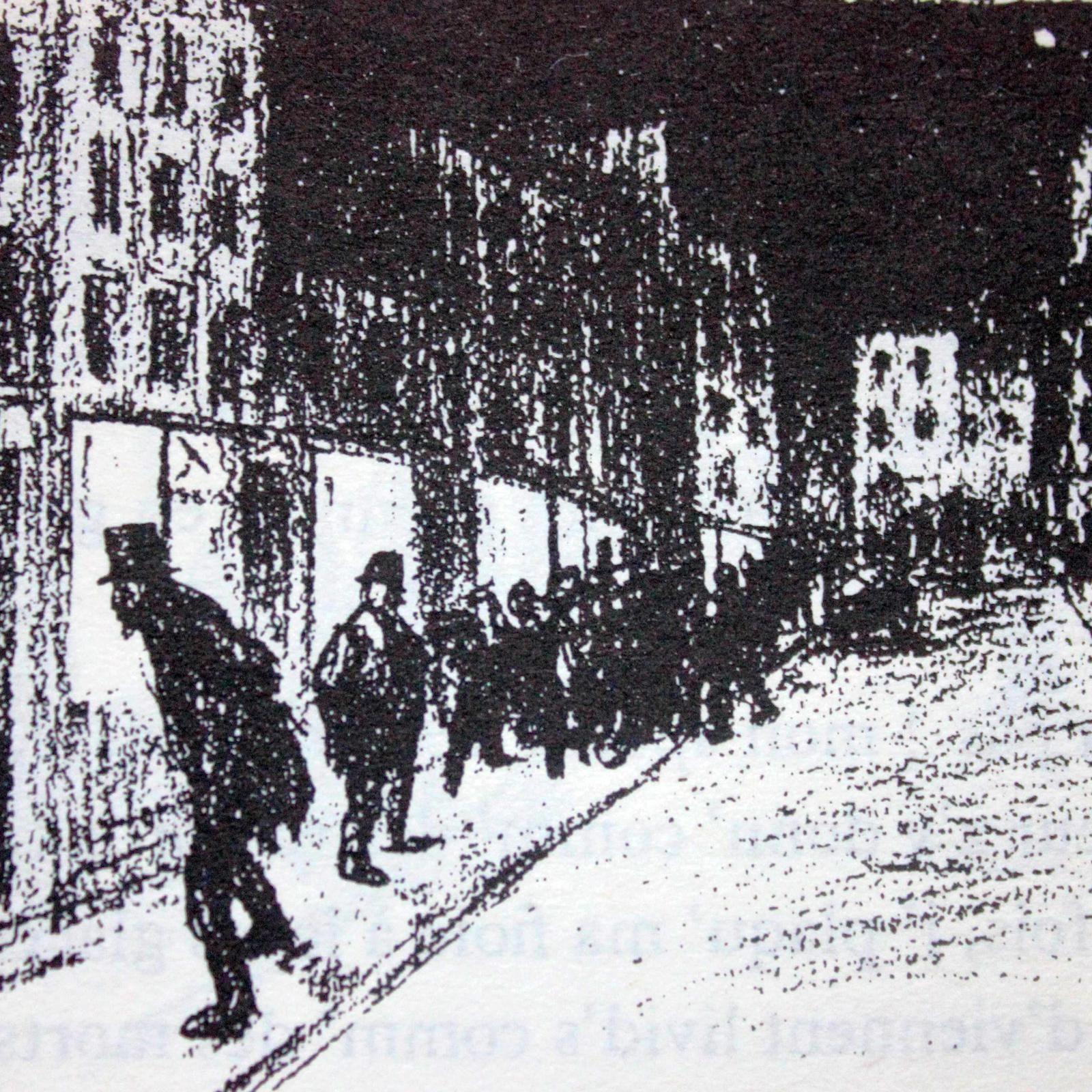 Jehan-Rictus à Montmartre.