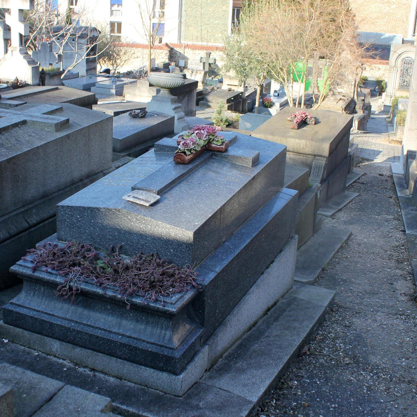 tombe de Ninette Aubart (division 13)