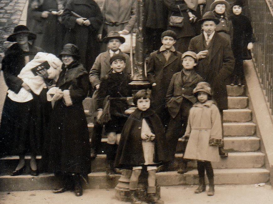 Rue Utrillo. Rue Muller. François Gabriel. Photos d'un enfant de 1918 à 1932.
