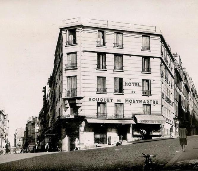 """Le 1, Hôtel """"Le bouquet de Montmartre"""" (1935)"""