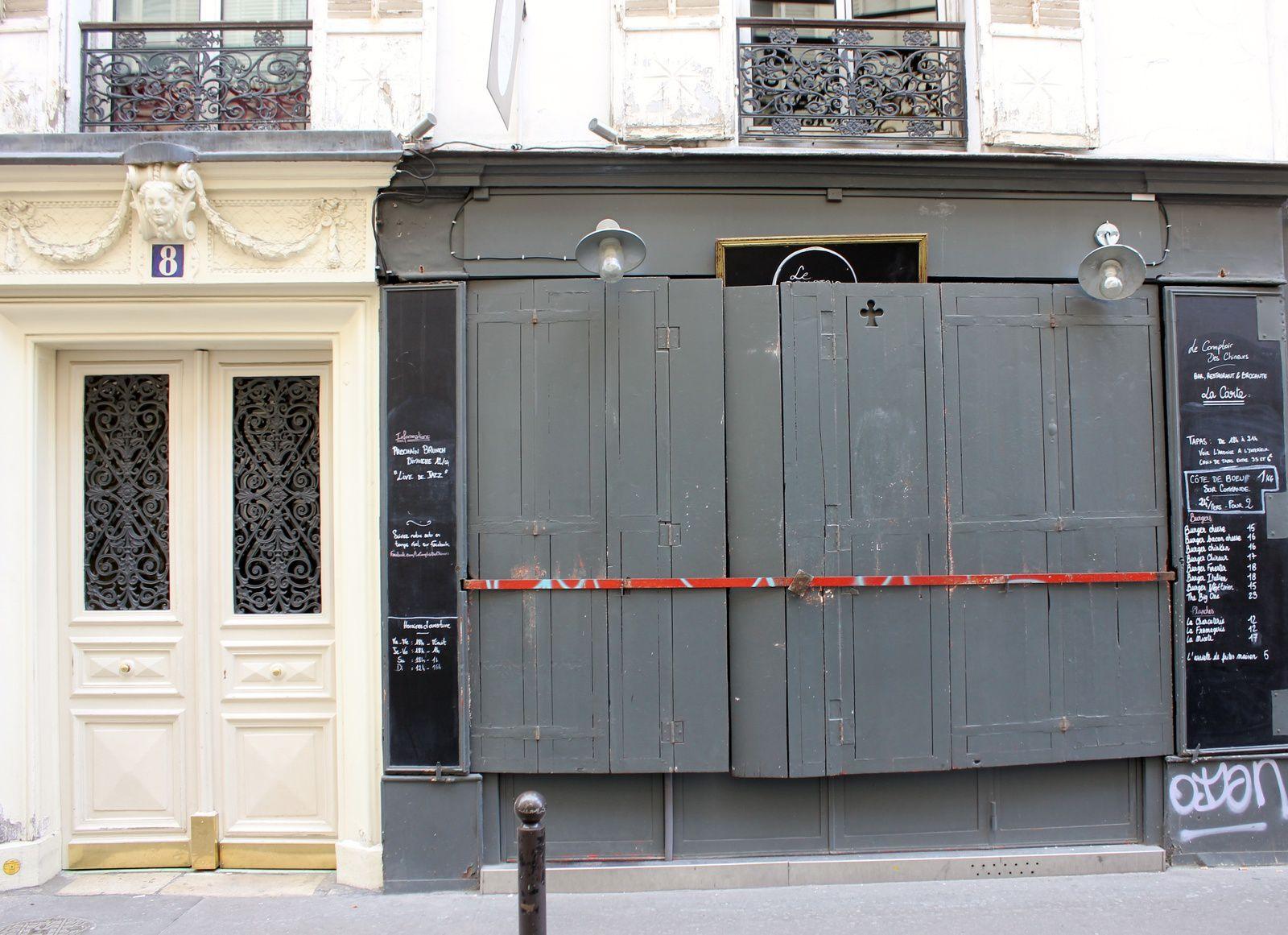 Le restaurant (fermé le jour de ma visite!)
