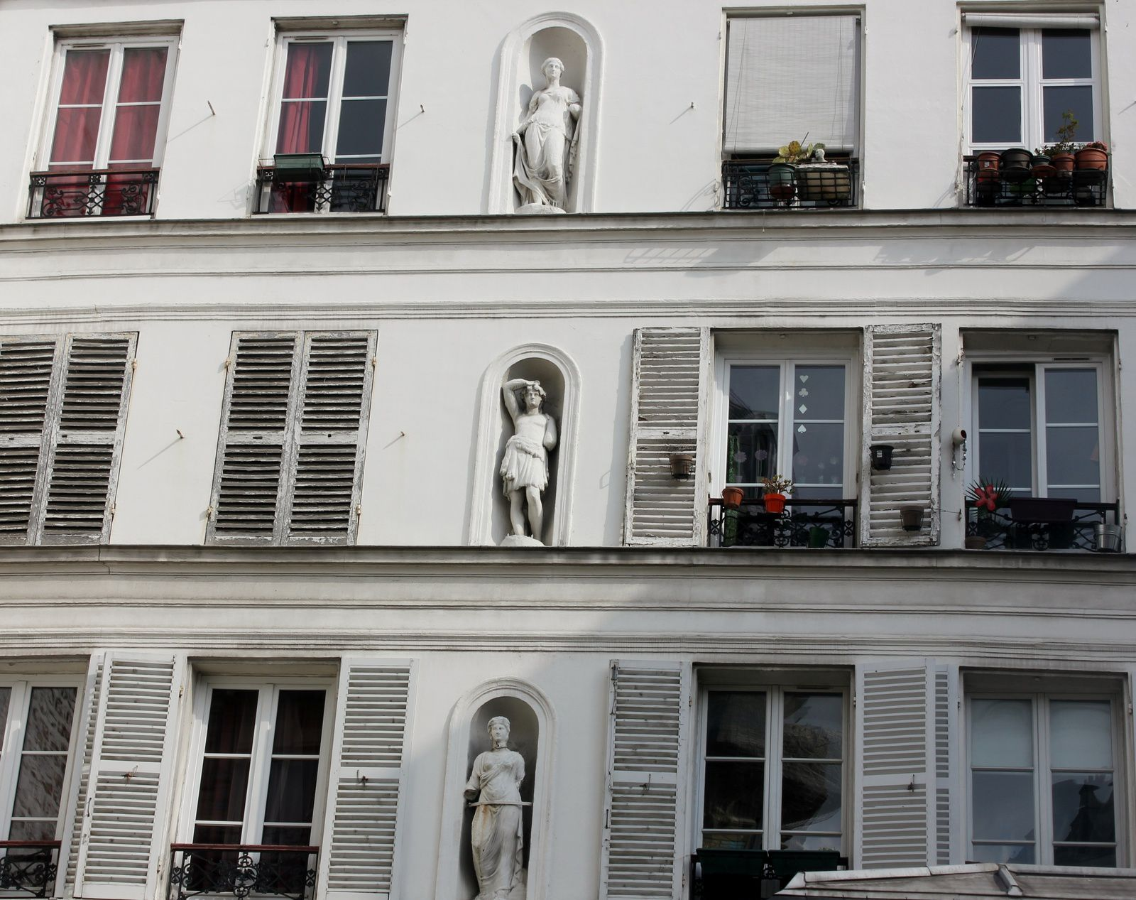 Façade rue Lepic